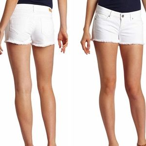NWT PAIGE OffWhite Silverlake Shorts